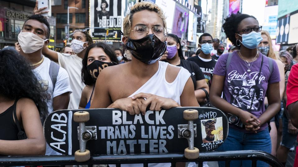 News - George Floyd Protest - March for Black Womxn - Times Square