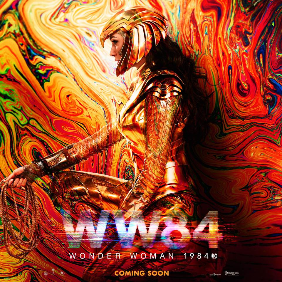 Official banner for Warner's ″Wonder Woman 1984.″
