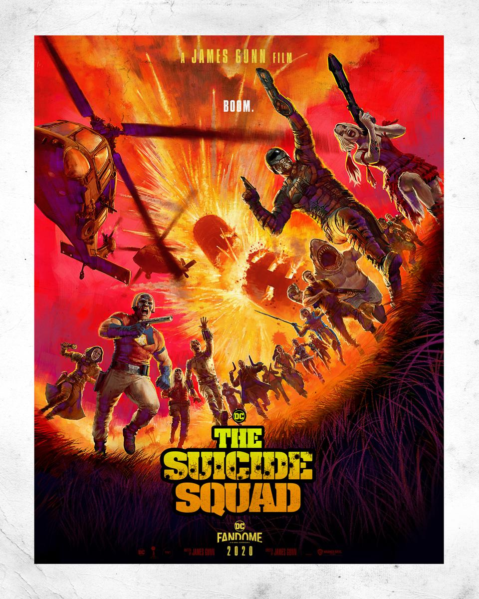 Official Poster for Warner's ″The Suicide Squad.″