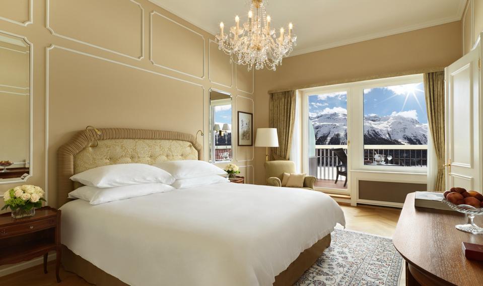 Badrutt's Palace Hotel, Suite Bedroom