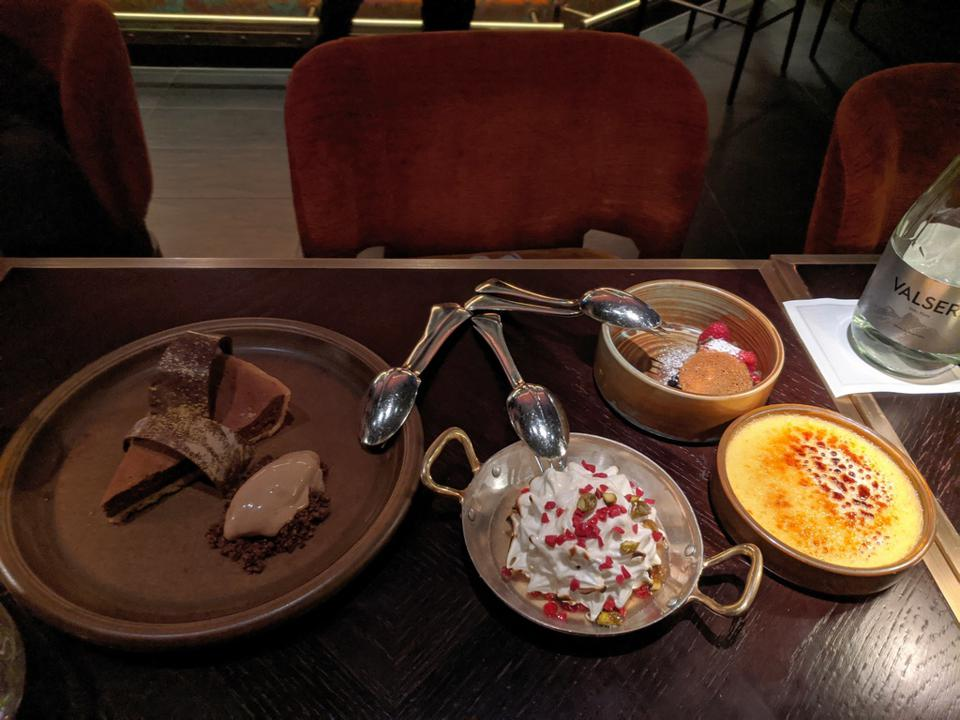 King's Social Club offers decadent desserts ideal for sharing