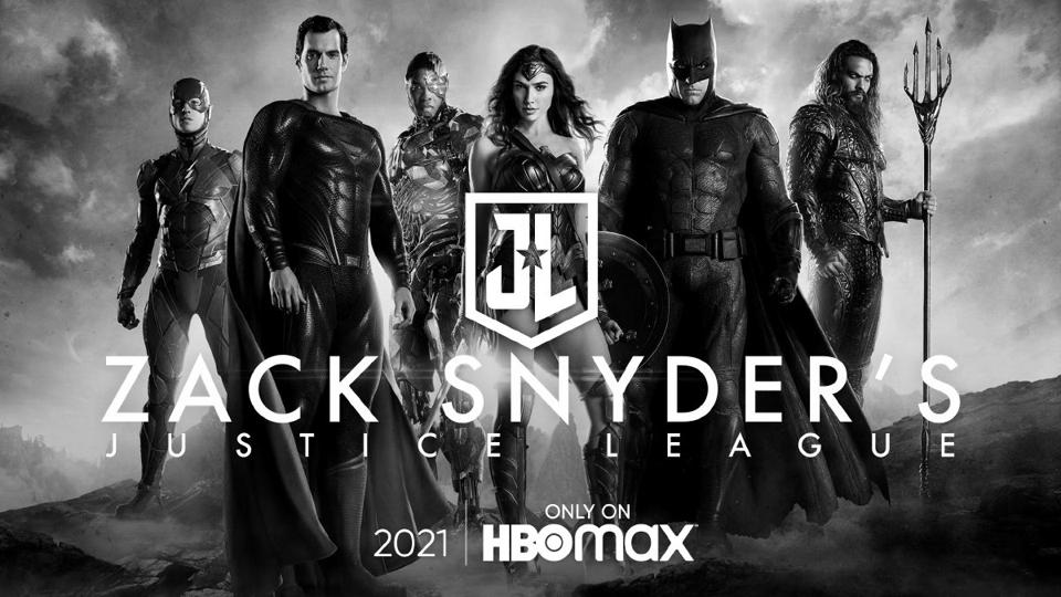 Official banner for ″Zack Snyder's Justice League.″