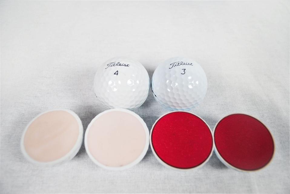 Counterfeit golf balls