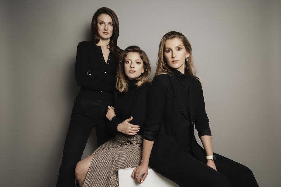 Co-founders Anna, Kate, and Sophia