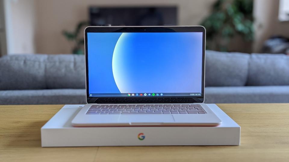 The Google Pixelbook Go.