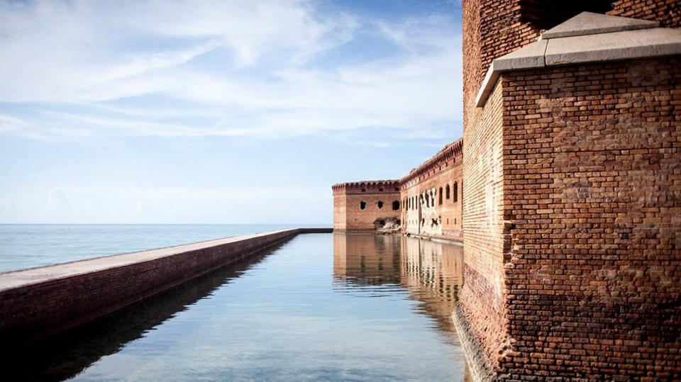 Dry Tortugas boasts the largest masonry structure in the Americas.