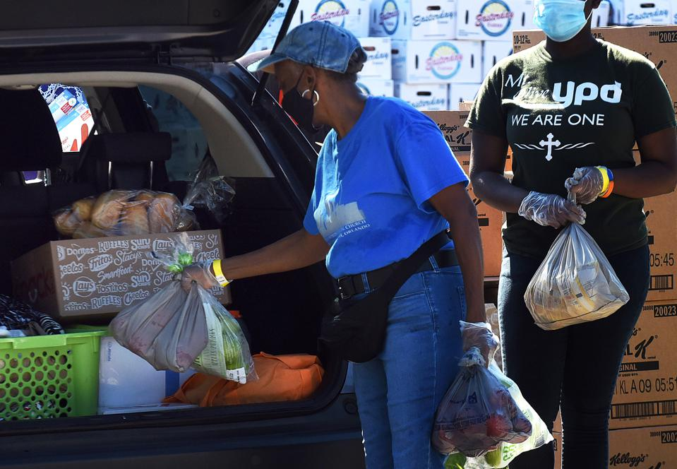 Orlando Food Banks Face Continued Demand As Unemployment From Pandemic Persists