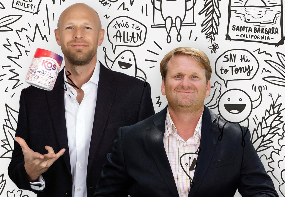 Allan Stevens (left) and Tony Stahl (right) are the co-founders of KOS