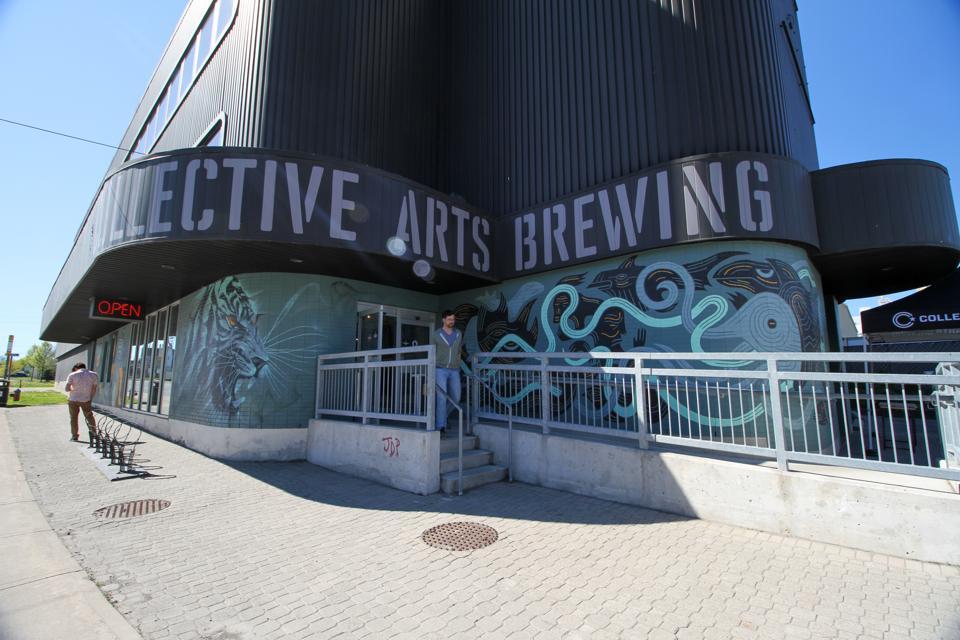 Collective Arts Brewing in Hamilton, Ontario