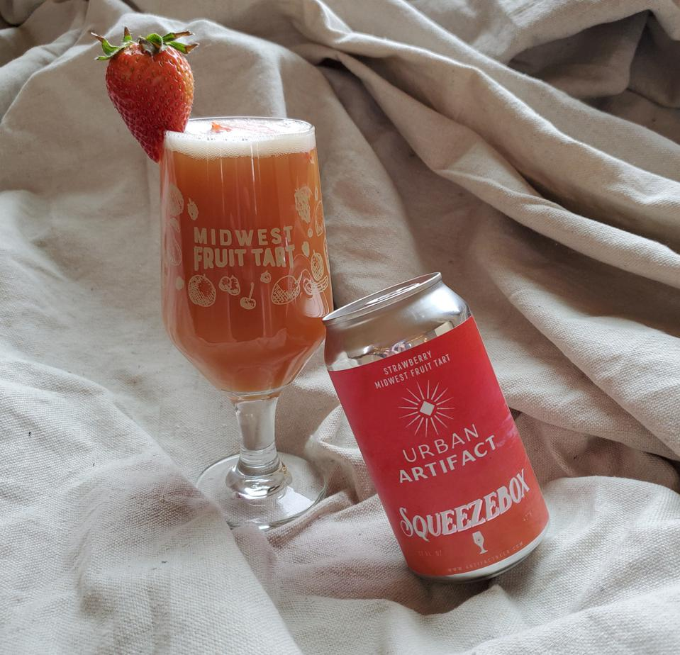Cincinnati's Urban Artifact is known for its unique fruit beers, including Squeezebox, a sour beer loaded with strawberries.