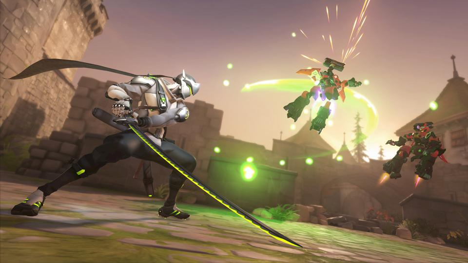 Genji in Overwatch 2