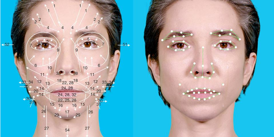 Coralie Vogelaar, A research on emotion recognition software, 2018. Courtesy of the artist.