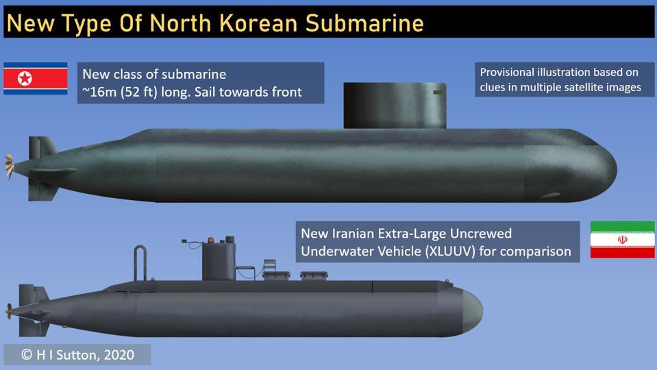 Záhadnú ponorku spozorovali na severokórejských satelitných snímkach
