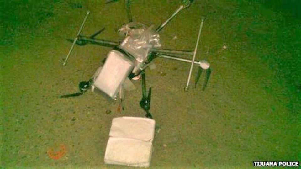 Drug carrying drone