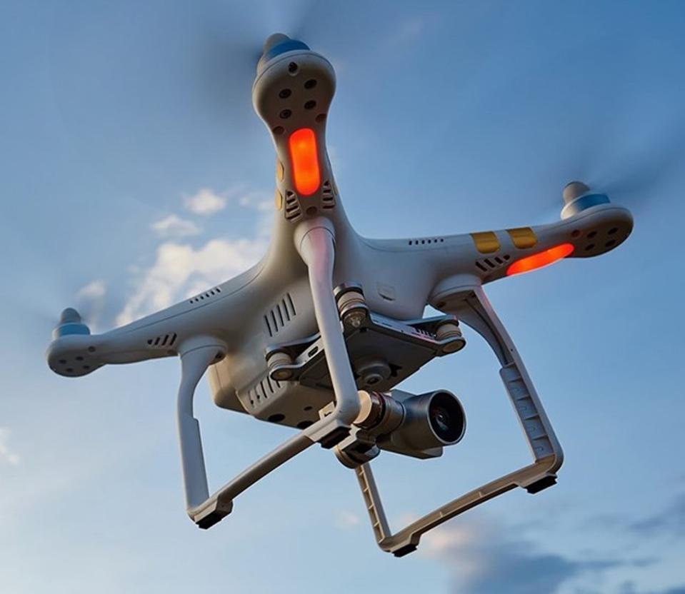 Robotic drone with LiDAR