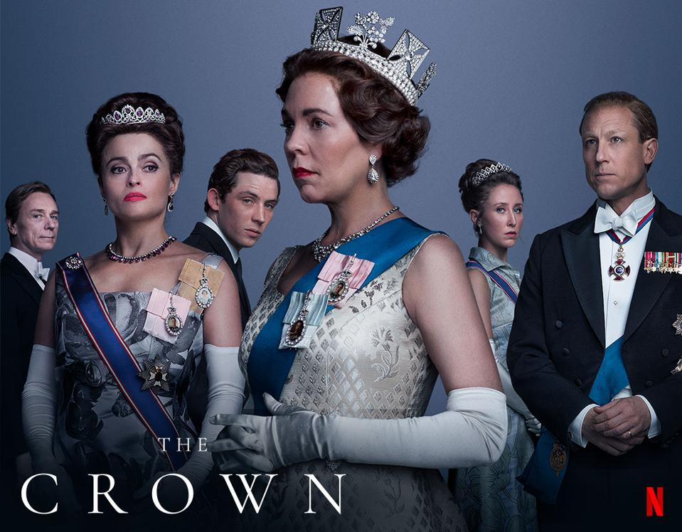 poster for season 3 of The Crown t.v series