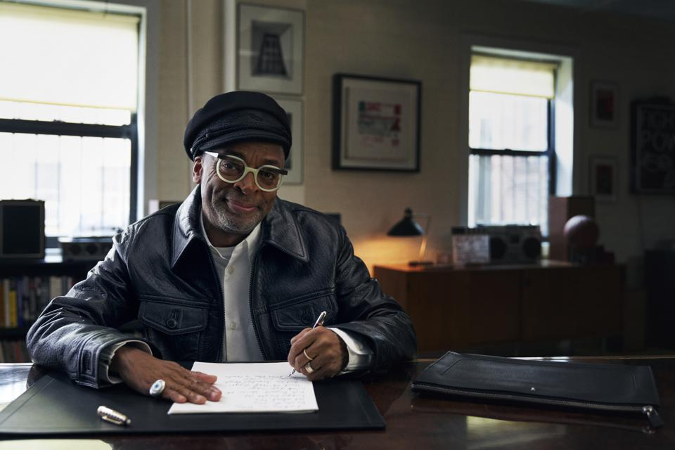 Spike Lee writes all his scripts by hand.