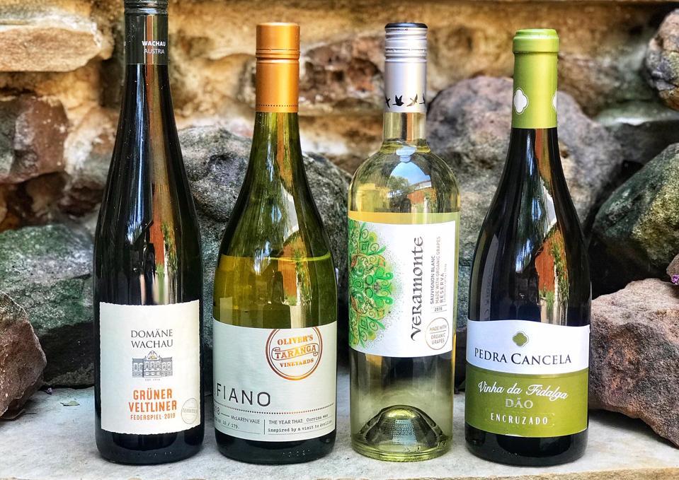 White wines from around the world.