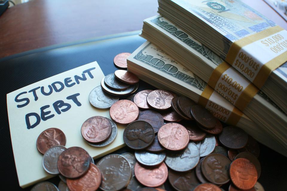 Federal Student Loan Debt Drops 42%