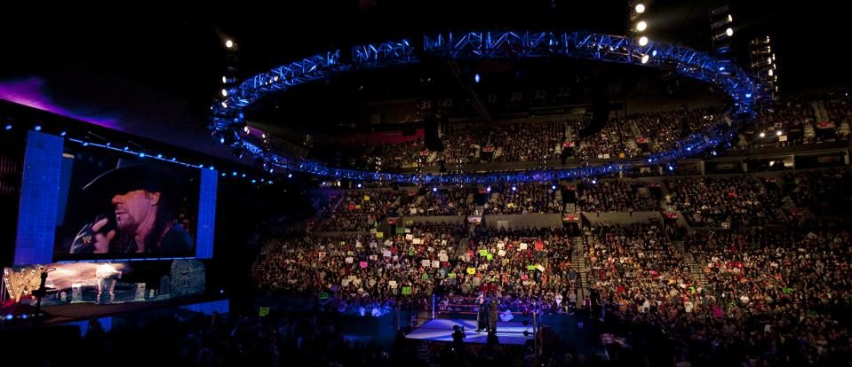 WWE star The Undertaker on Raw