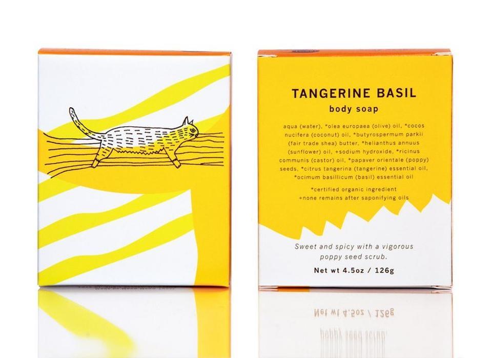 Meow Meow Tweet Tangerine Basil Body Soap