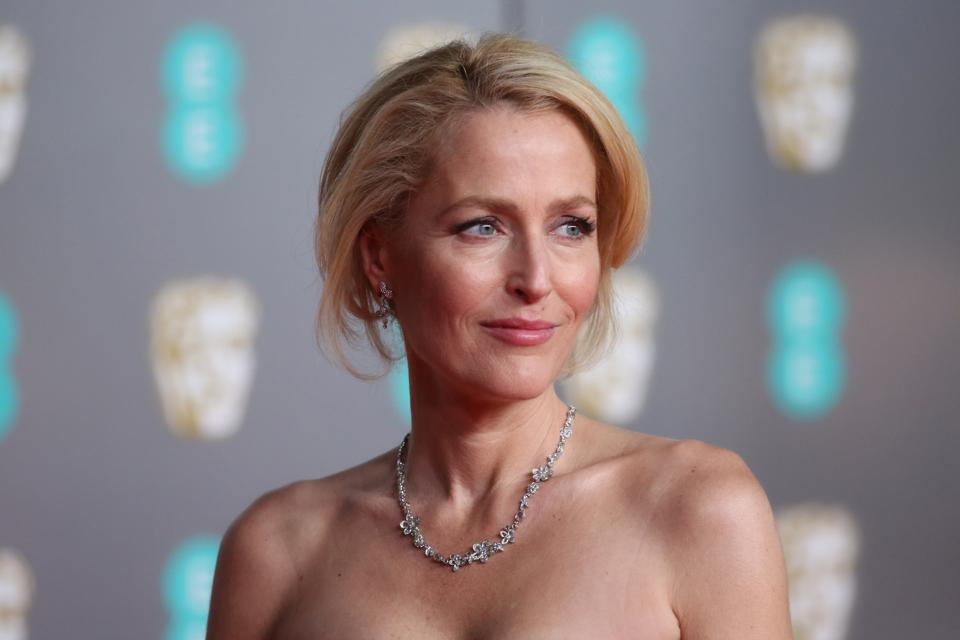Gillian Anderson, EE British Academy Film Awards 2020 - Red Carpet Arrivals