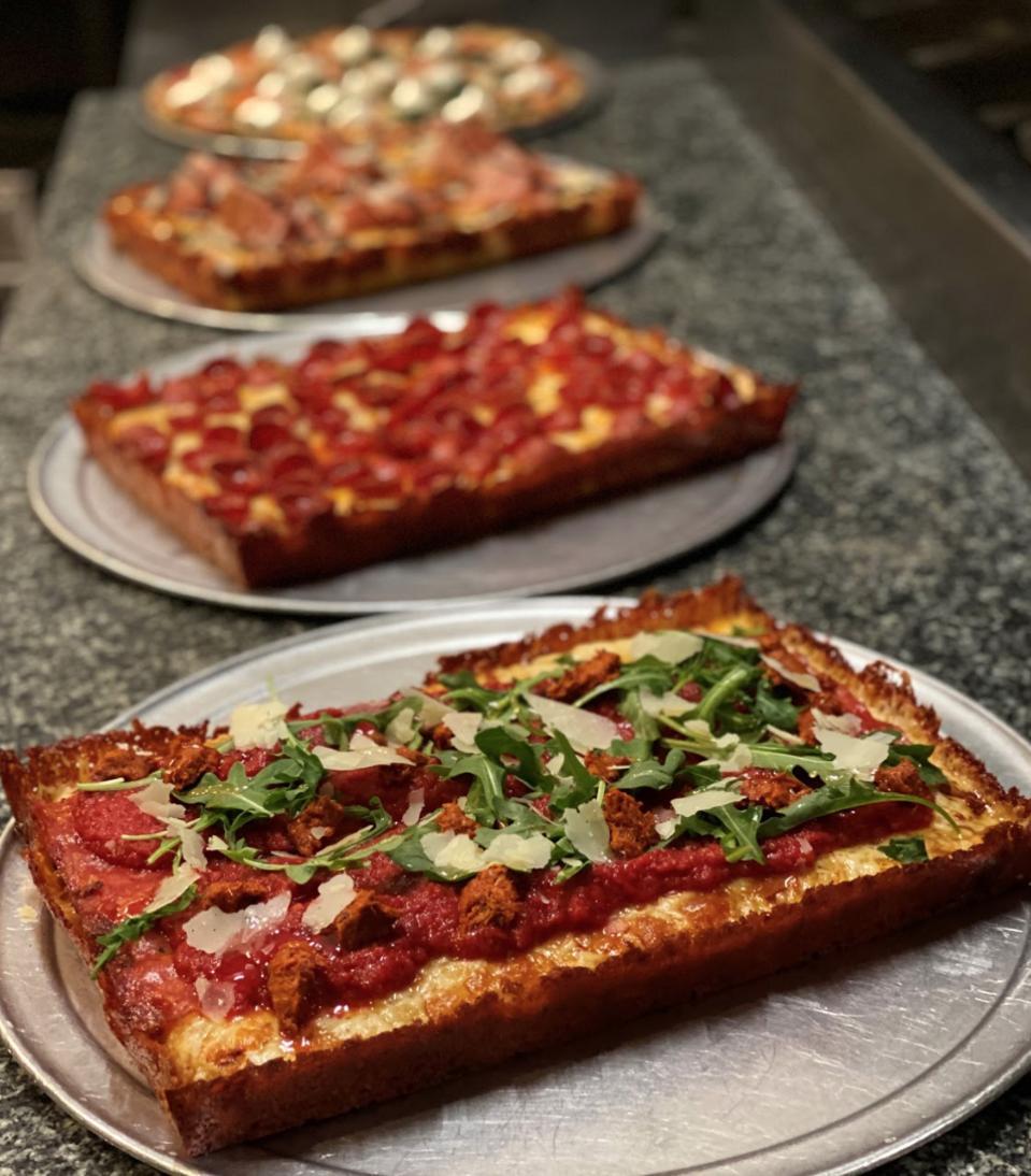 New Detroit pizzas, including the Deville.