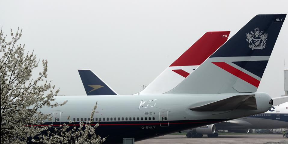 British Airways centenary fleet