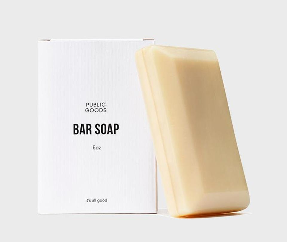 Public Goods Bar Soap