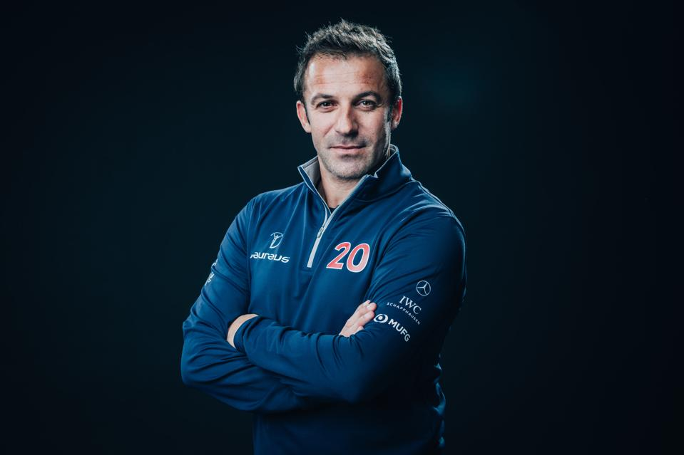 Portrait of Alessandro Del Piero - 2020 Laureus World Sports Awards - Berlin