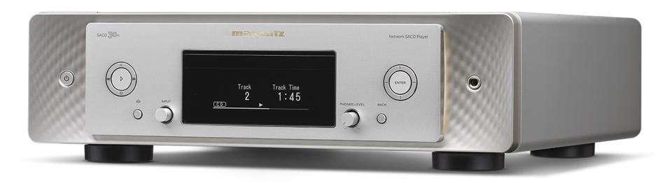 Three-quarter view of Marantz SACD 30n network player