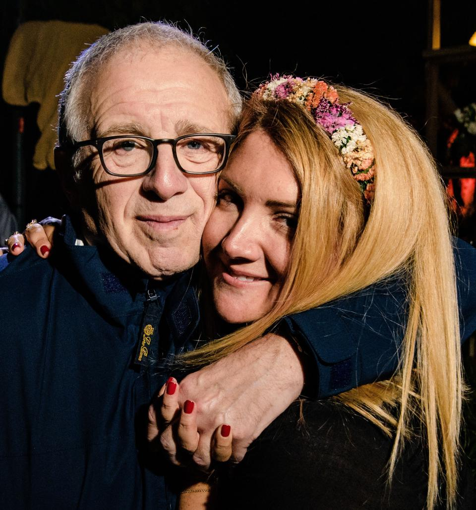 Allison Statter and her dad and CEO of Azoff Music Management and legendary entertainment mogul, Irving Azoff