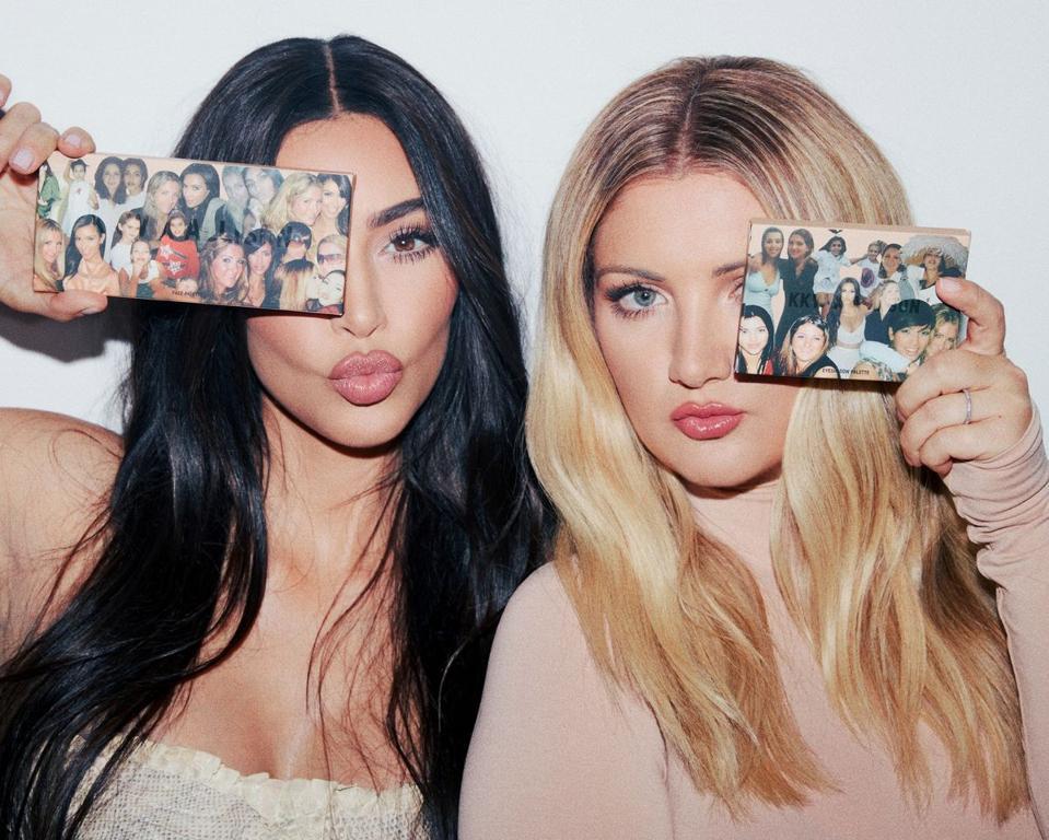 Kim Kardashian and Allison Statter launch their KKW x Allison pallette collection