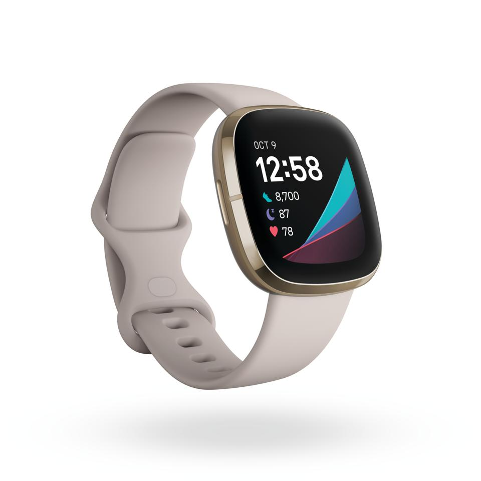 Fitbit Sense, the company's first health watch.