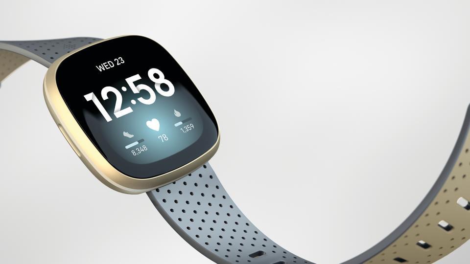 The new Fitbit Sense health watch.