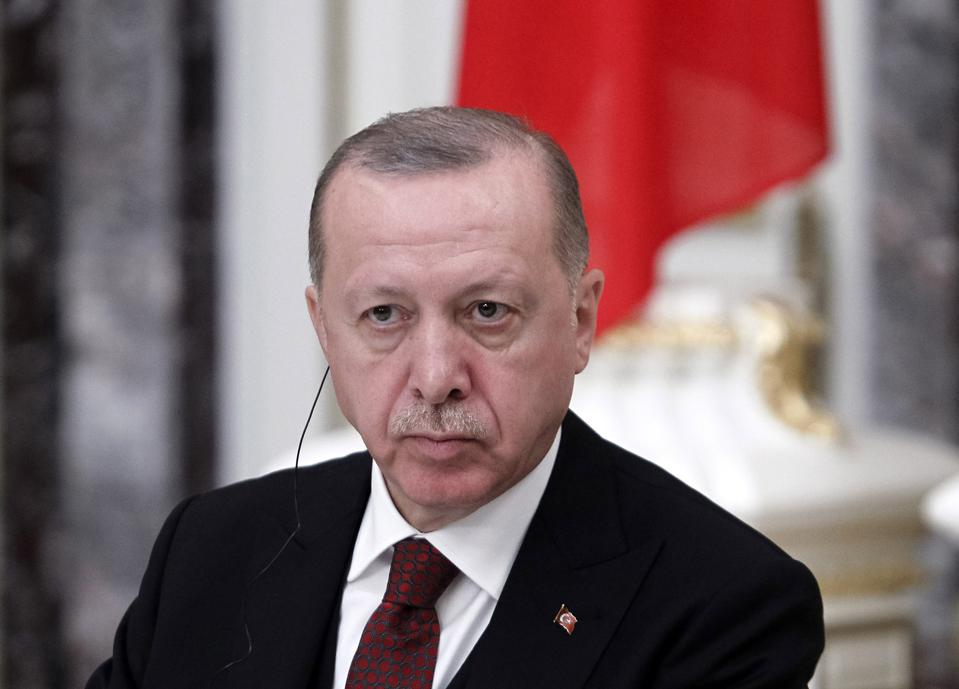 Turkish President Recep Tayyip Erdogan Visits In Ukraine