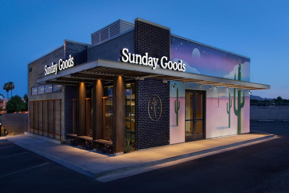 Sunday Goods, Destination Dispensary, dispensary design, luxury cannabis, cannabis retail