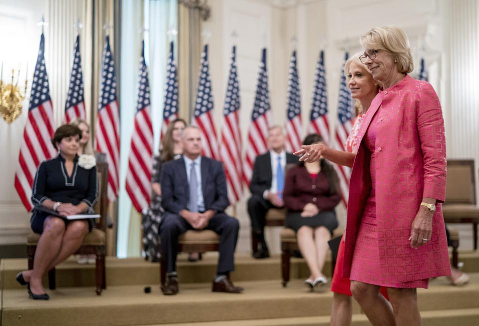 President Trump Participates In White House Event On Getting America's Children Safely Back To School