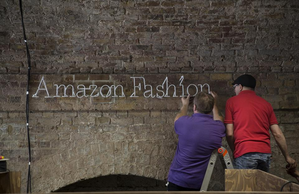 Amazon.com Inc.'s New Fashion Photography Studio P