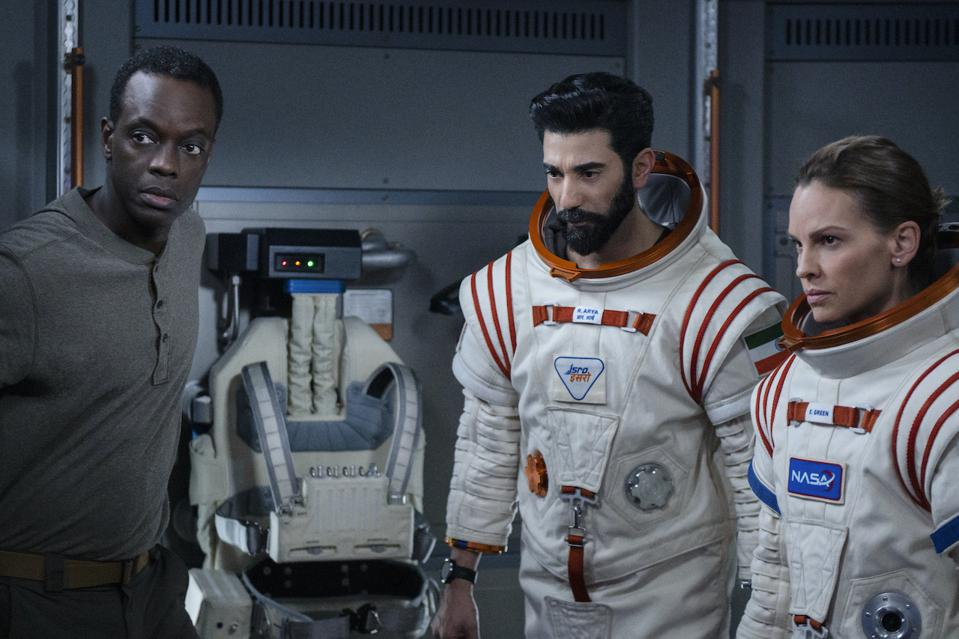 Want to go to Mars? Netflix will take you there in its new space drama 'Away' premiering in September. New series premiering on Netflix September 2020.