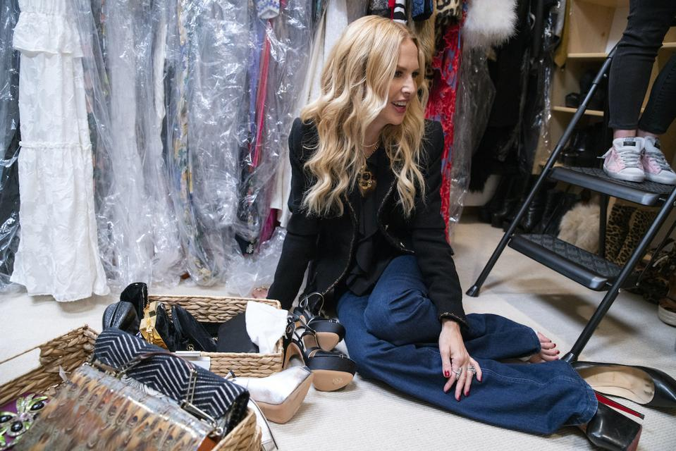 Rachel Zoe gets organized in the new Netflix series 'Get organized with The Home Edit'. New series premiering on Netflix September 2020.
