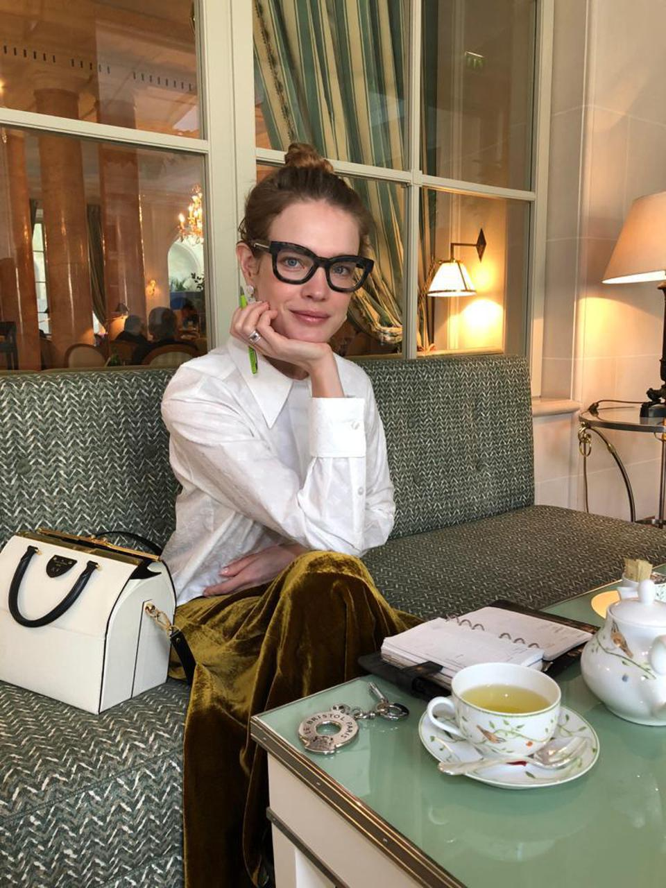 Natalia Vodianova is promoting her new business venture e-gree, an app for legal contracts, which she is bankrolling as an angel investor.