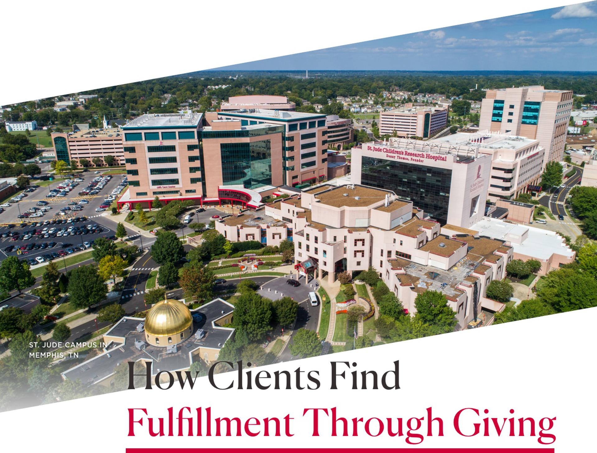 How Clients Find Fulfillment Through Giving