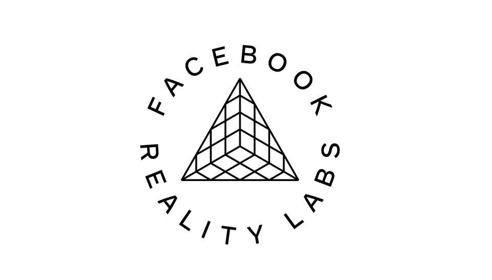 The Facebook Reality Labs logo. It's very ugly.