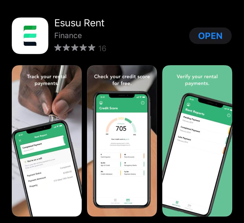 esusu, fintech, credit building, rental payments