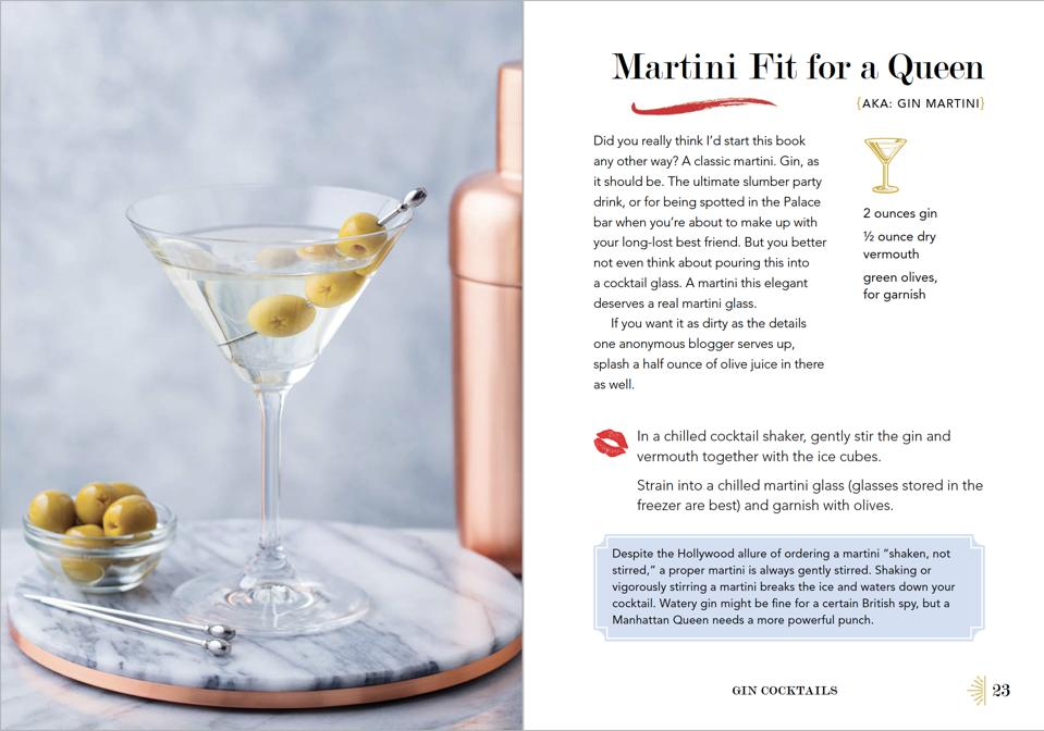 Gossip Girl gin martini sleepover