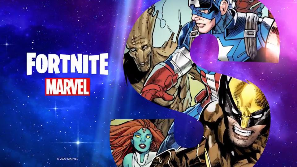 Final Fortnite Season 4 Teaser Reveals All The Marvel Superhero Battle Pass Skins
