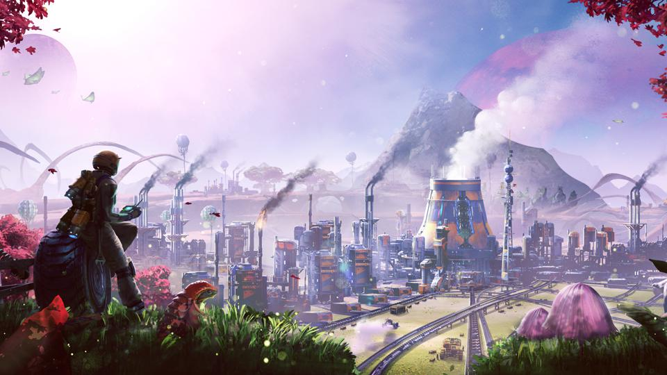 Satisfactory, a simulation game created by Coffee Stain Studios, is a 3D first-person open-world exploration and factory building game.