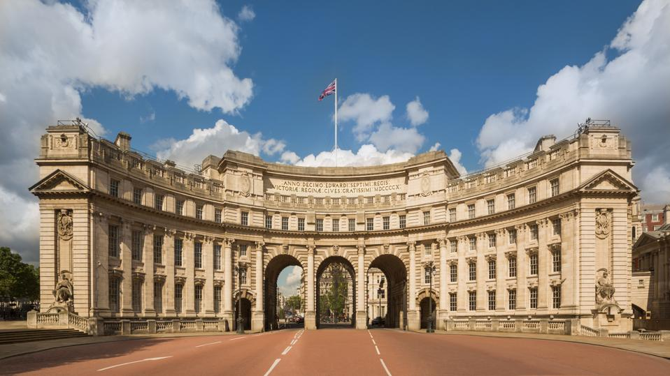 David Archer is among the architects working on the transformation of Admiralty Arch.
