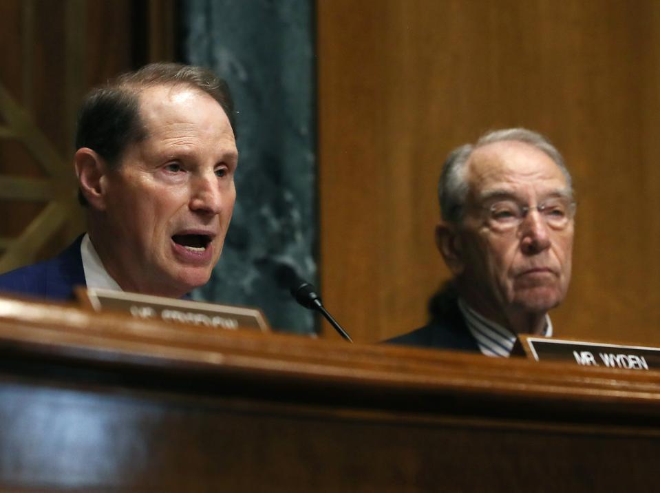 U.S. Senate Finance Committee leadership